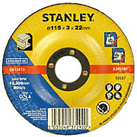 Stanley 115mm Metal Cutting Disc - STA32025-QZ