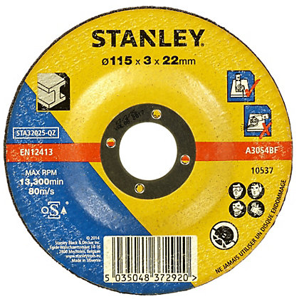 Image for Stanley 115mm Metal Cutting Disc - STA32025-QZ from StoreName