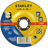 Stanley 125mm Metal Cuting Disc - STA32030-QZ