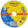 Stanley 125mm Metal Cutting Disc Pack  - STA32033-QZ