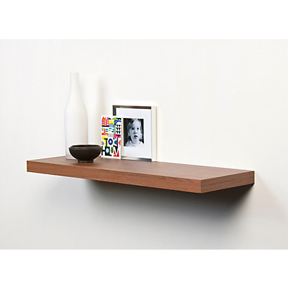 Image for Duraline Floating Shelf - Walnut - 60cm from StoreName