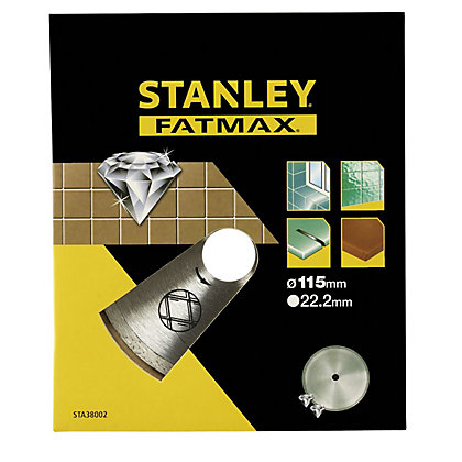 Image for Stanley Fatmax Diamond Disc 115mm Cont Rim - STA38002-XJ from StoreName