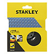 Stanley 115mm Angle Grinder Backing Pad - STA32105-XJ