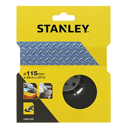 Image for Stanley 115mm Angle Grinder Backing Pad - STA32105-XJ from StoreName