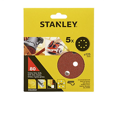 Image for Stanley 125mm ROS Sheets 80G - STA32032-XJ from StoreName