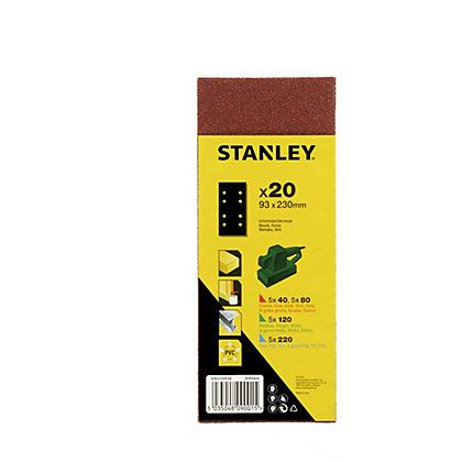 Image for Stanley 1/3 Sheet Punched Wire Clip Pack - STA31339-QZ from StoreName