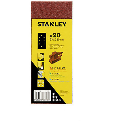 Image for Stanley 1/3 Sheet Punched Wire Clip Pack - STA31338-QZ from StoreName