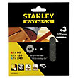 Stanley Fatmax 115mm ROS Sheets MESH Mixed Pack - STA39237-XJ