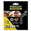 Stanley Fatmax 125mm ROS Sheet MESH Mixed Pack - STA39267-XJ
