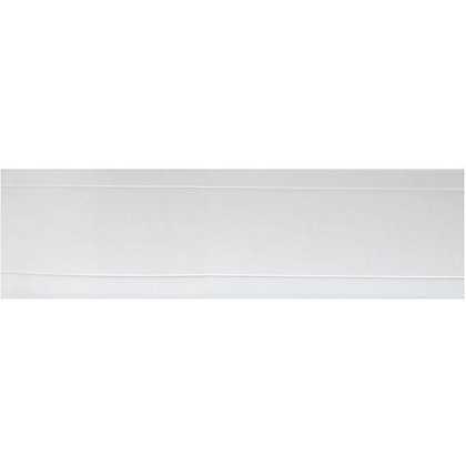 Image for Vitale Deluxe Acrylic P Shape Front Bath Panel- (L)1675mm from StoreName