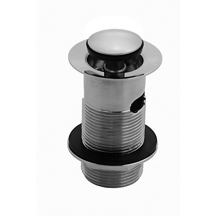 Image for Vitale Slotted Basin Push Button Waste from StoreName