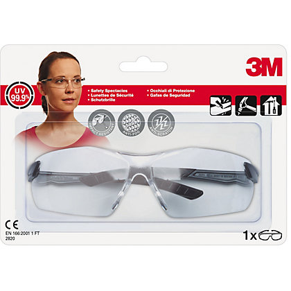 Image for 3M 2820 C1 Clear Impact Safety Spectacle from StoreName