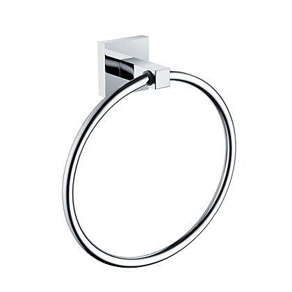 Image for Bristan Square Towel Ring from StoreName