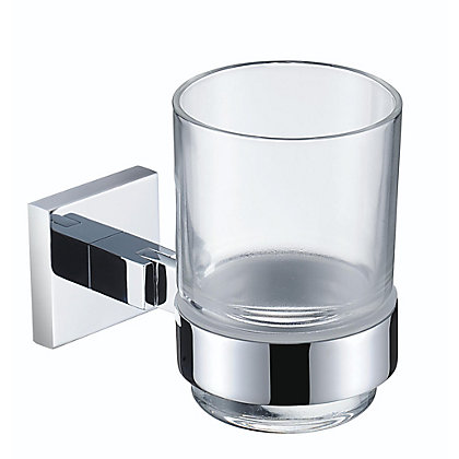 Image for Bristan Square Tumbler and Holder from StoreName