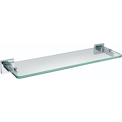 Image for Bristan Square Glass Shelf from StoreName