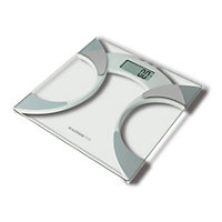 Salter Glass Analyser Bathroom Scale - 9141 WH3R