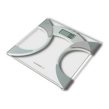 Image for Salter Glass Analyser Bathroom Scale - 9141 WH3R from StoreName