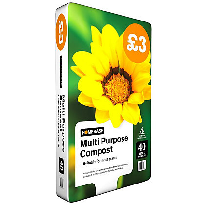 Image for Homebase Multi-Purpose Compost - 40L from StoreName