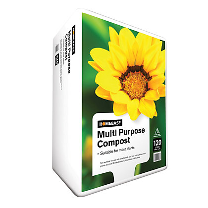 Image for Homebase Multi-Purpose Compost - 120L from StoreName