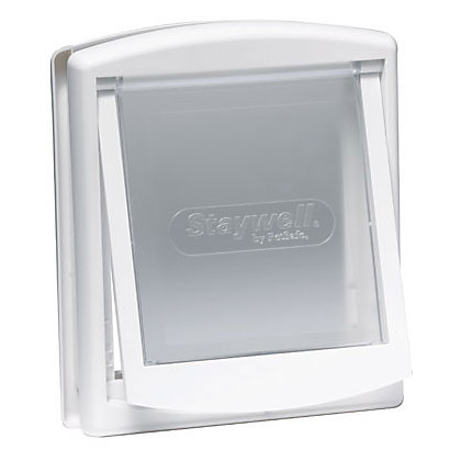 Image for Staywell Small 2-Way Pet Door - White from StoreName