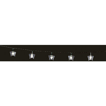 Image for 35 Butterfly Solar String Lights from StoreName