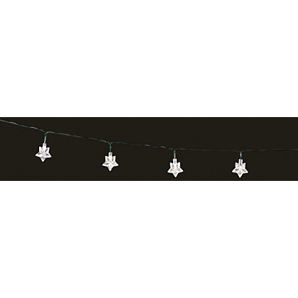 Image for 35 Star Solar String Lights from StoreName