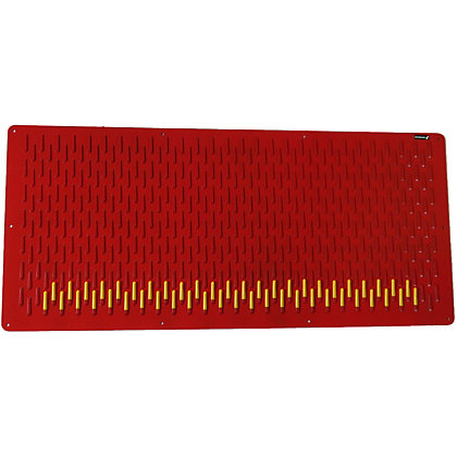 Image for Storbord SB400 Wall Storage Panel - Red from StoreName