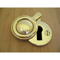 Stormguard Key Hole Cover Draught Excluder - Gold Effect
