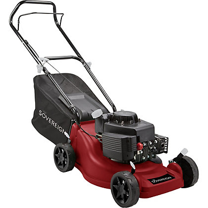 Image for Sovereign 150cc Push Petrol Rotary Lawn Mower - 40cm from StoreName