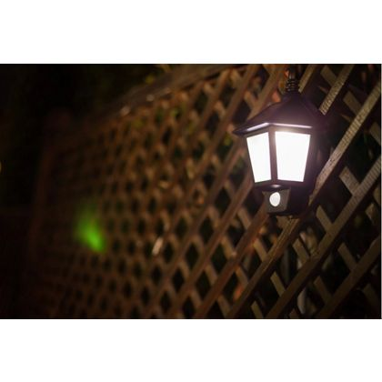 Wall Street S Bright Lights : Solar Super Bright PIR Wall Light
