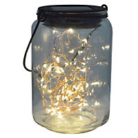 LED Fairy Jar Solar Lights