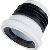 Toilet Pan Straight Connector - 110mm