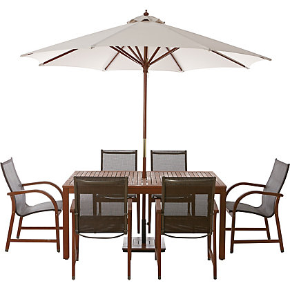 Ontario 4 Seater Garden Furniture Set