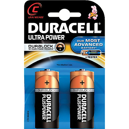 Image for Duracell Ultra MX 1400 C - Packet of 2 from StoreName
