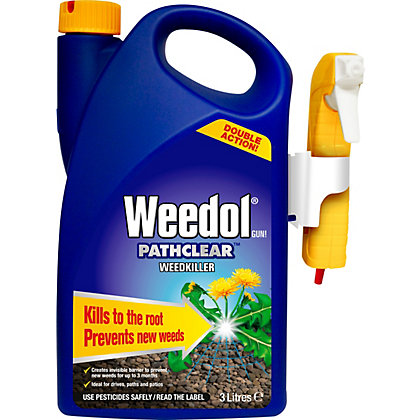 Image for Weedol Pathclear Gun! Ready to Use Weedkiller - 3L from StoreName