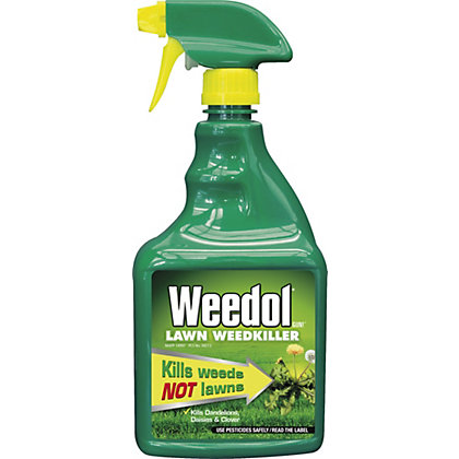 Image for Weedol Gun! Lawn Weedkiller Ready to Use Spray - 800ml from StoreName
