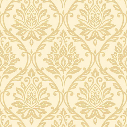Fine decor athena damask beige wallpaper for Wallpaper homebase