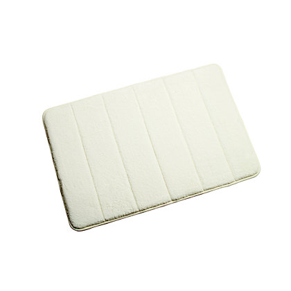 Image for Croydex Micro Fibre Cream Bathmat - Medium from StoreName