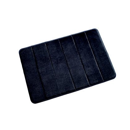 Image for Croydex Micro Fibre Anthracite Bathmat - Medium from StoreName
