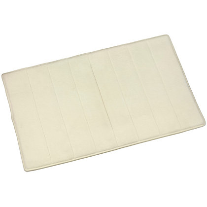 Image for Croydex Micro Fibre Cream Bathmat - Large from StoreName
