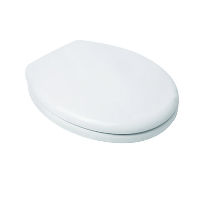 Image for Croydex Safeflush Toilet Seat - White from StoreName