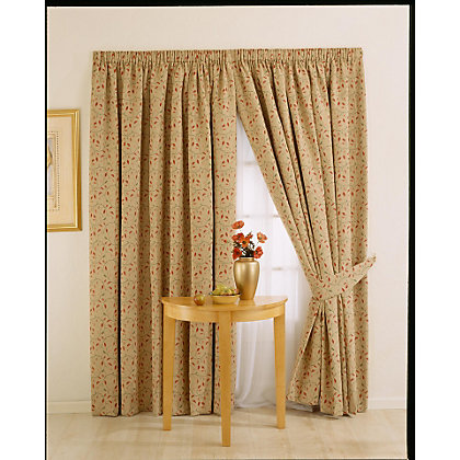 Image for Whiteheads Heythrope Chintz Lined Curtains - 88 x 54in from StoreName
