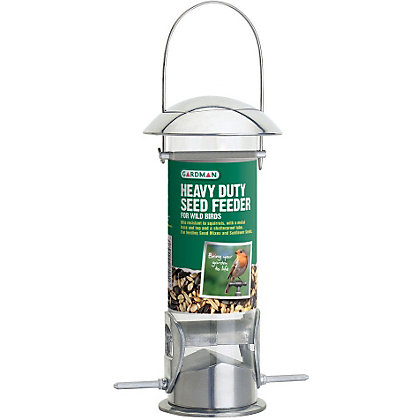Image for Gardman Heavy Duty Seed Bird Feeder from StoreName