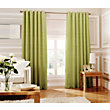Whiteheads Loretta Lime Lined Curtains - 66 x 54in