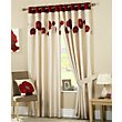 Curtina Danielle Red Lined Curtains - 90 x 54in