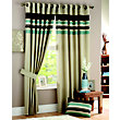 Curtina Harvard Duck Egg Lined Curtains - 66 x 54in