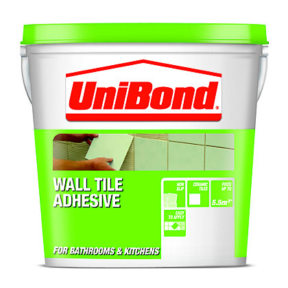 Image for Unibond Waterproof Tile Adhesive - Large from StoreName