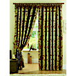 Curtina Maybury Terracotta Lined Curtains - 46 x 54in