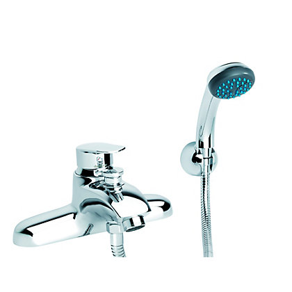 Image for Damixa Clover Deck Bath Shower Mixer - Single Lever from StoreName