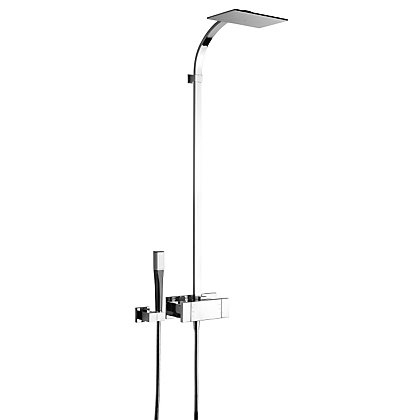 Image for Damixa G Type Thermostatic Shower with Fixed Head Shower from StoreName